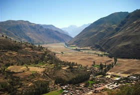 Sacred Valley of cusco.